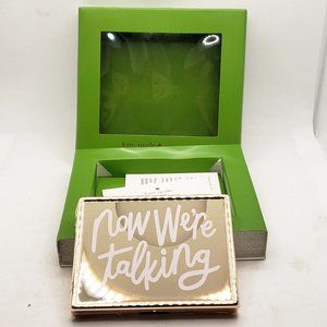 New In Box Kate Spade Now We're Talking card case